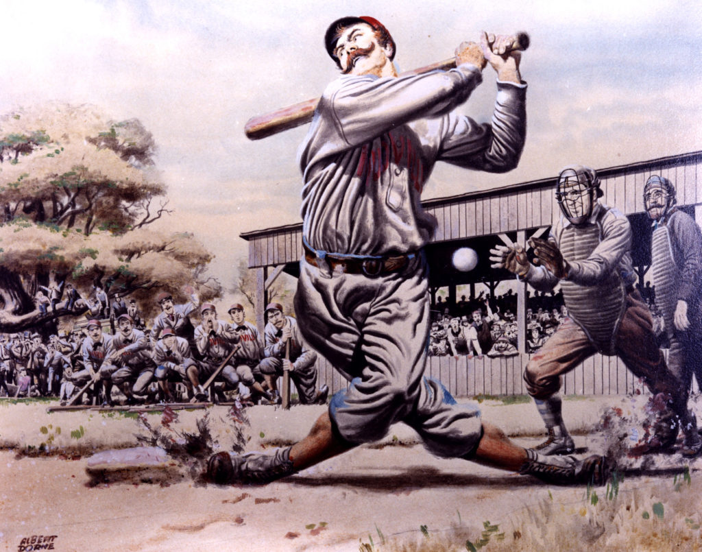 """Casey at the Bat"" by Ernest Thayer"